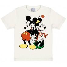 Disney Musse & Mimmi T-Shirt Barn Vit