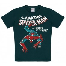 Marvel Den Fantastiska Spindelmannen T-Shirt Barn Svart