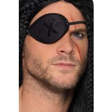 Ögonlapp Pirat Svart