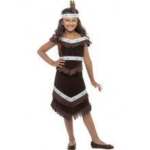 Indianflicka Maskeraddräkt Barn