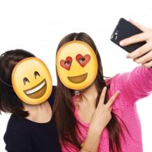 Emoji Partymasker 5-pack