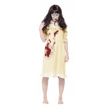 Zombie I Nattlinne Maskeraddräkt