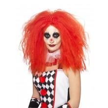 Peruk Clown Lång