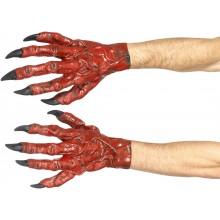 Handskar Djävulen Latex