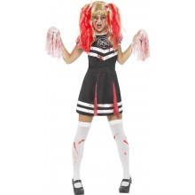 Djävuls Cheerleader Maskeraddräkt