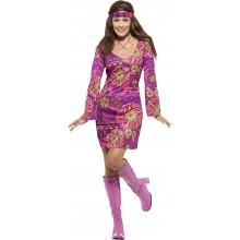 Woodstock Hippie Maskeraddräkt