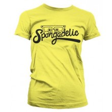 Spongadelic Dammodell T-Shirt