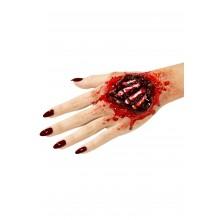 Latexsår Blottade Handben