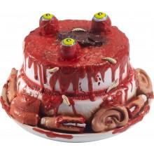 Zombietårta Dekoration