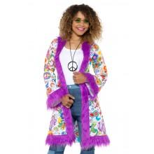 60-tals Kappa Hippie Lila