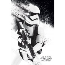 Star Wars the Force Awakens Stormtrooper Poster