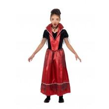 Vampyr Prinsessa Maskeraddräkt Barn