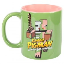 Minecraft Zombie Pigman Mugg