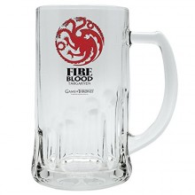 Game of thrones ölglas Targaryen