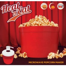 Heat 'n' Eat - Micorvågsugn popcormmaskin