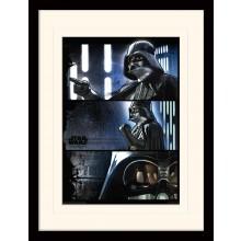 Star Wars Rogue Poster Darth Vader Inramad