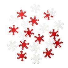Snöflingor Juldekoration