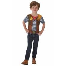 Cowboy T-shirt Maskeraddräkt Barn
