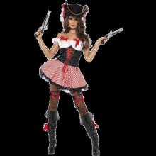 Fever Sexig Piratdräkt