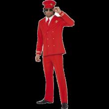 Pilotdräkt röd