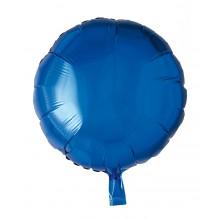Folieballong Rund Blå