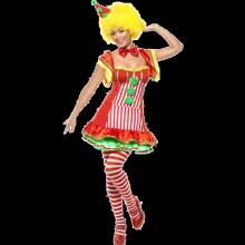 Clownen Boo Boo-dräkt dam