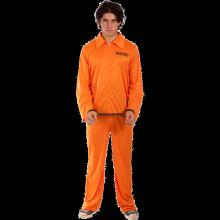 Förrymd fånge-dräkt