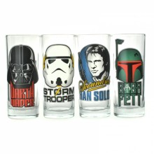 Star Wars Glas 4-pack