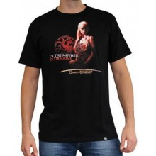 GoT Mother of Dragons T-Shirt Svart