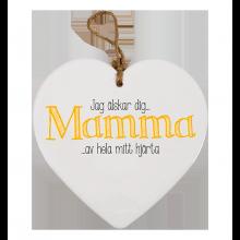 Hjärta Mamma Jag Älskar Dig