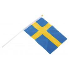 Handflagga Sverige 6-pack