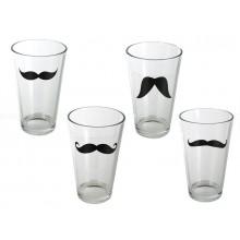 Mustasch Glas