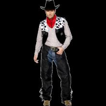 Cowboy Läderkostym