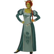 Shrek: Fiona-dräkt