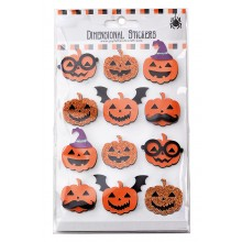 Stickers Pumpor Halloween