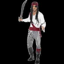 Piratdräkt herr
