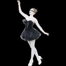 Black Swan Balettklänning Maskeraddräkt
