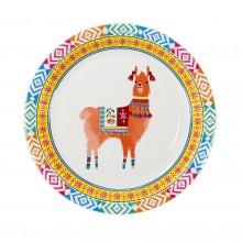 Tallrikar Boho Lama 8-pack