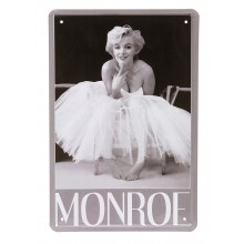 Rockabilly Metalltavla Marilyn