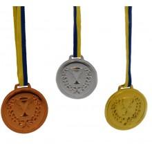 Medaljer Guld Silver Brons 6-pack