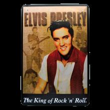Rockabilly Metalltavla Elvis