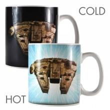 Star Wars Millenium Falcon Värmekänslig Mugg