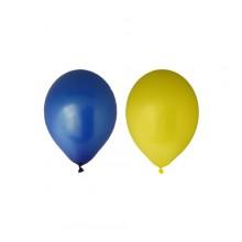 Ballonger Gul/Blå 12-pack