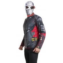Suicide Squad Deadshot Maskeraddräkt Kit