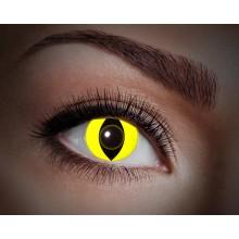 Färgade linser UV Yellow Cat