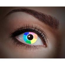 Färgade linser UV Rainbow