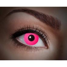Färgade linser UV Flash Pink