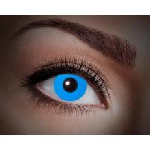 Färgade linser UV Flash Blue