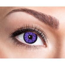 Färgade linser Violet Monster