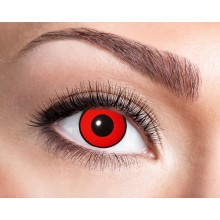 Färgade linser Red Manson